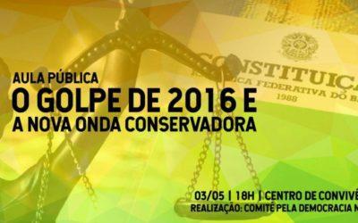 Aula pública UCS será no dia 03 de maio no Centro de Convivência