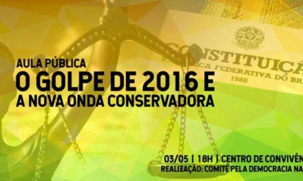 Aula pública UCS será no dia 03 de maio<p> no Centro de Convivência