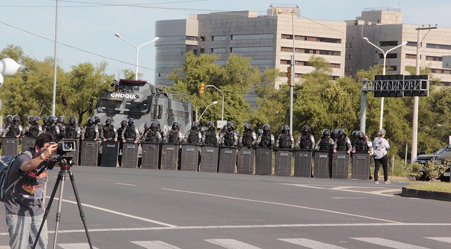 Aparato de segurança. Porto Alegre, fevereiro de 2018