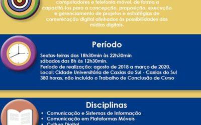 Especialização em Comunicação Digital UCS/PUC