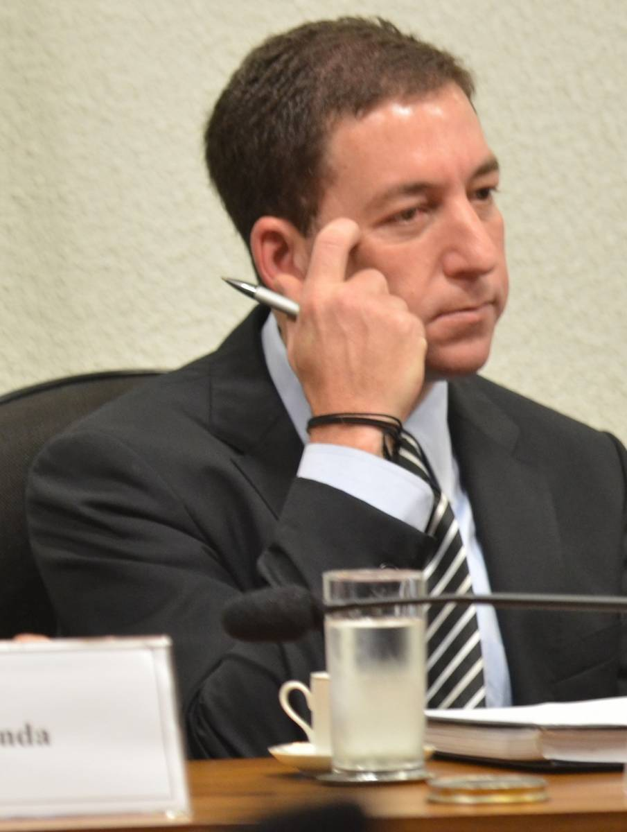 Glenn Greenwald, fundador do Intercept Brasil