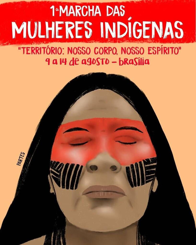 Mulheres indígenas e camponesas juntas de 9 a 14 de agosto, em Brasília