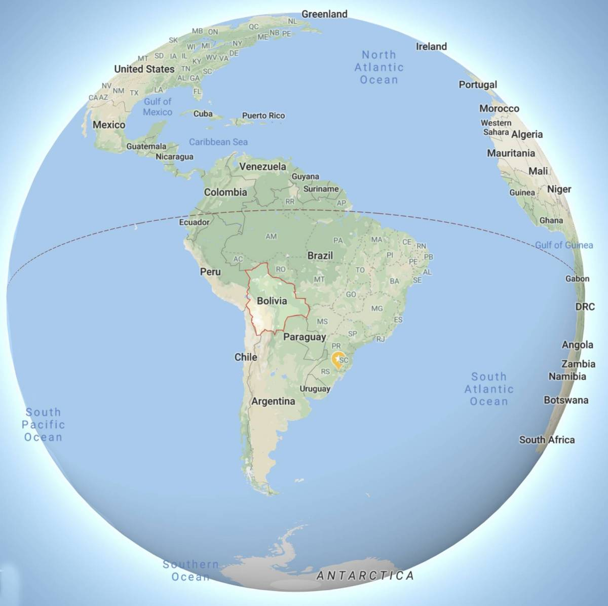 Sofre o povo boliviano